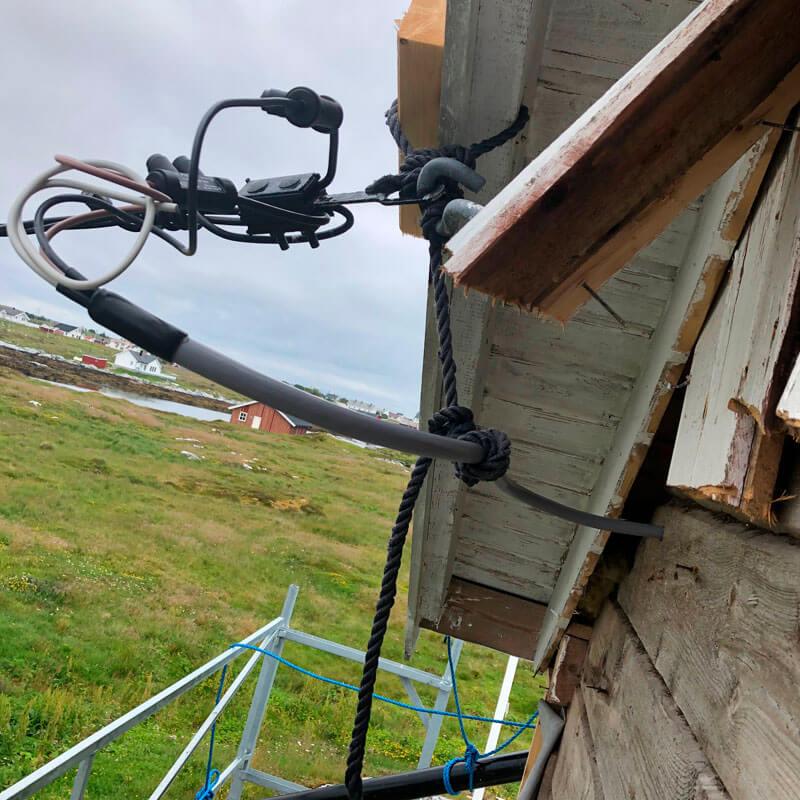 gamle strømkobling