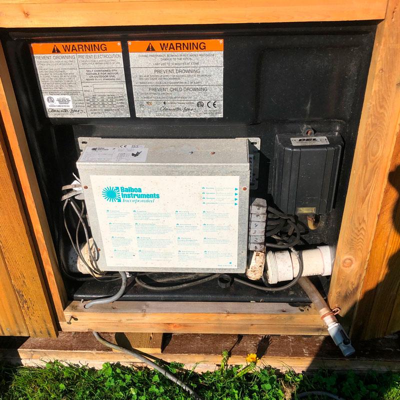 oppdatering av strømnett jacuzzi