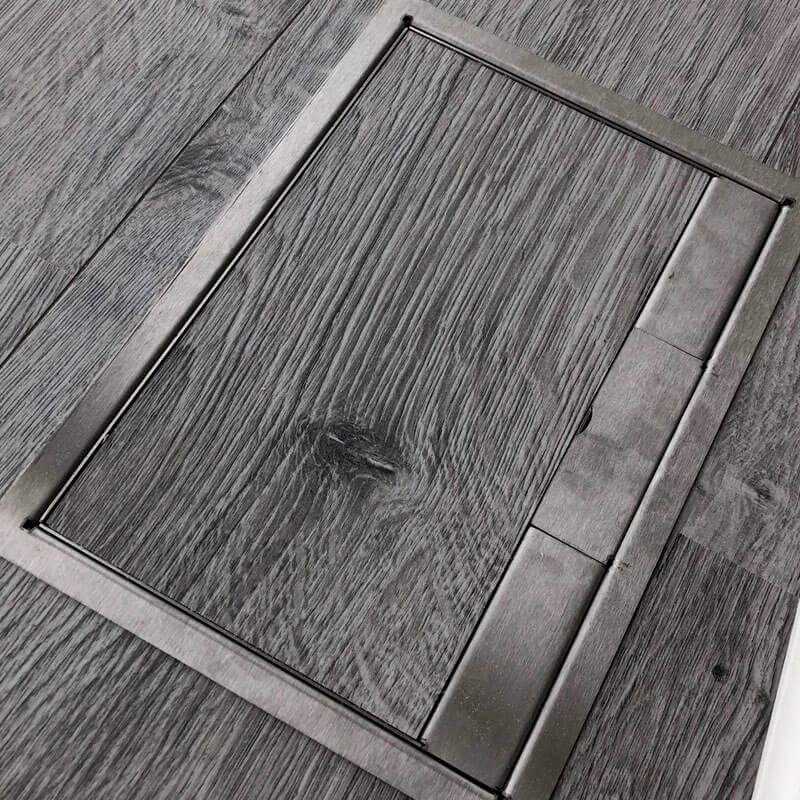 skjult stikkontakt gulv