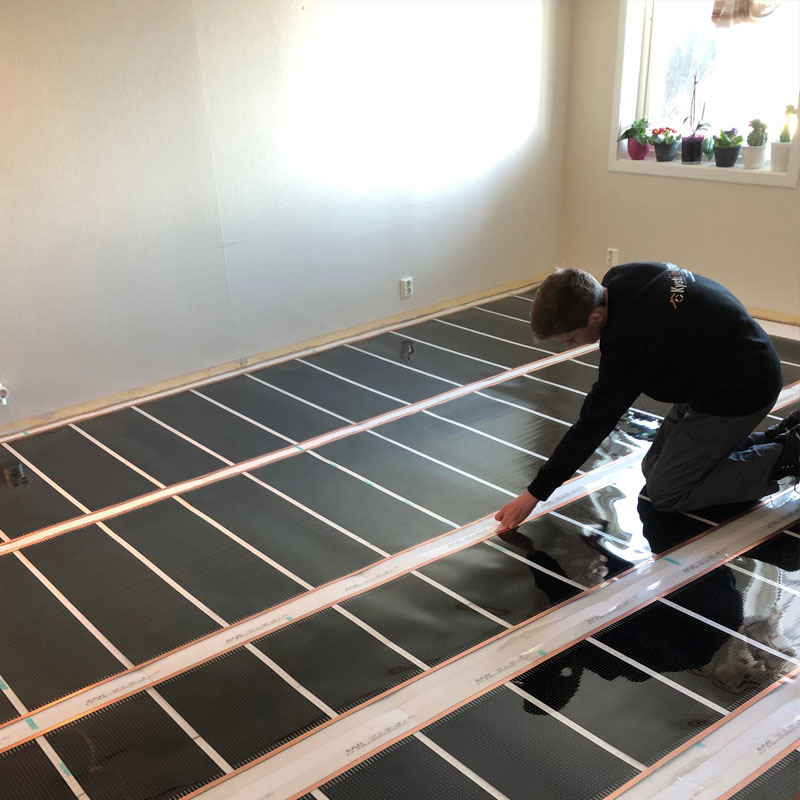 varmeplater gulv